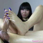 Asian Footjob Amateur Video
