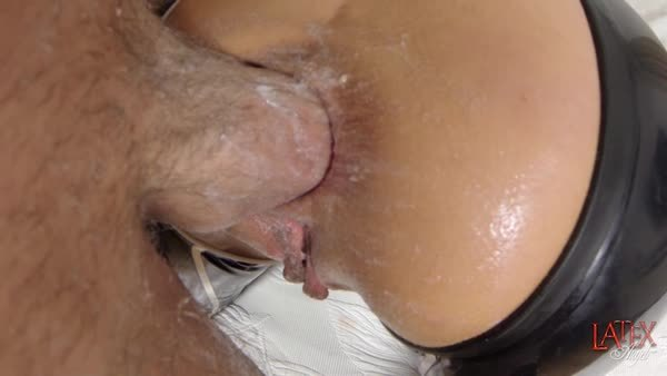 Balls Deep Anal Fucking Cock and Balls in Asshole