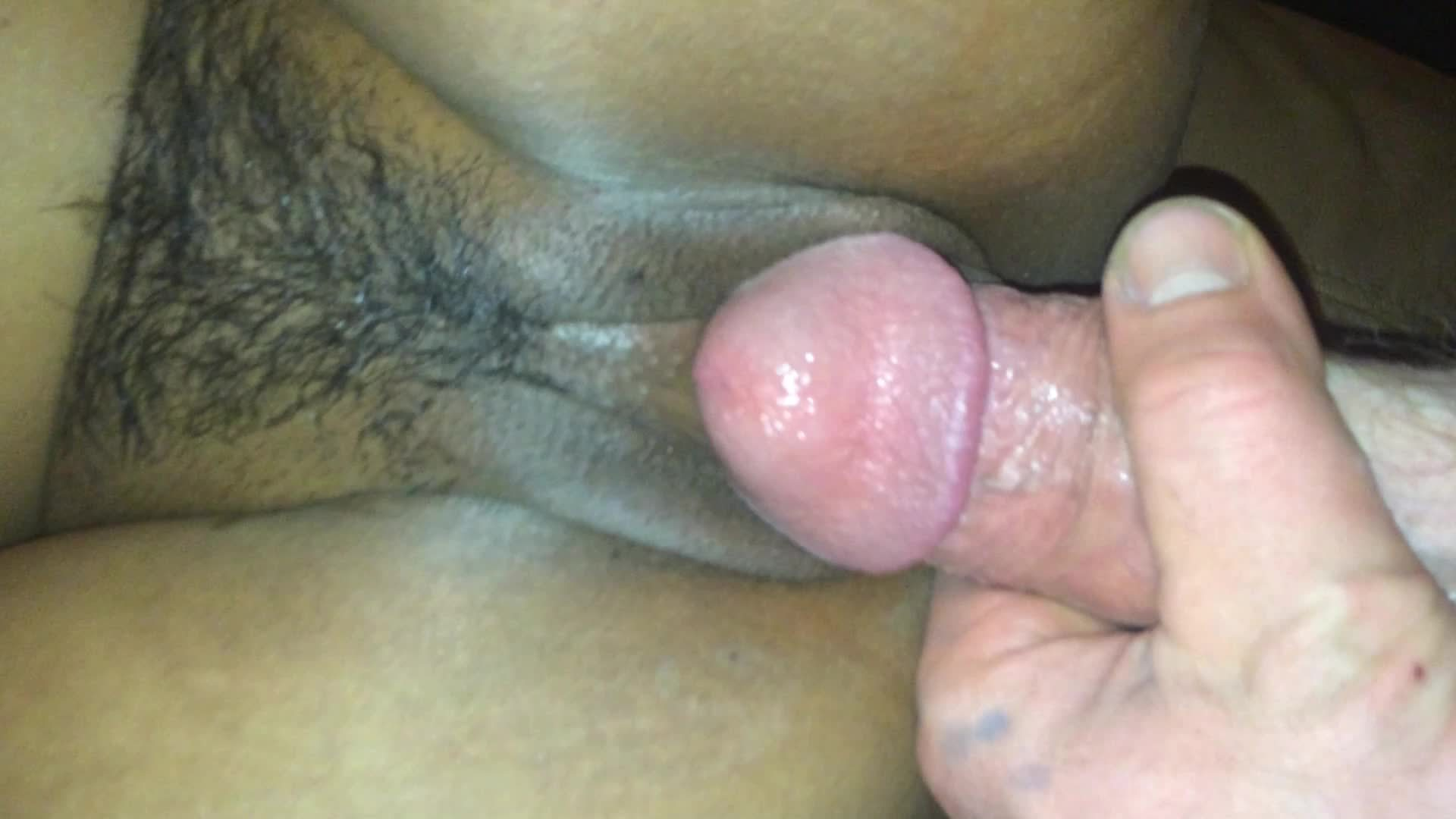 HD Close Up Asian Pussy Takes Big White Cock –