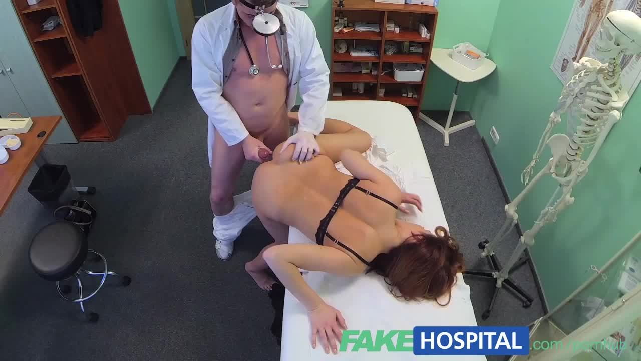 FakeHospital Beautiful Brunettes Wet Pussy Gets Doctors Cock
