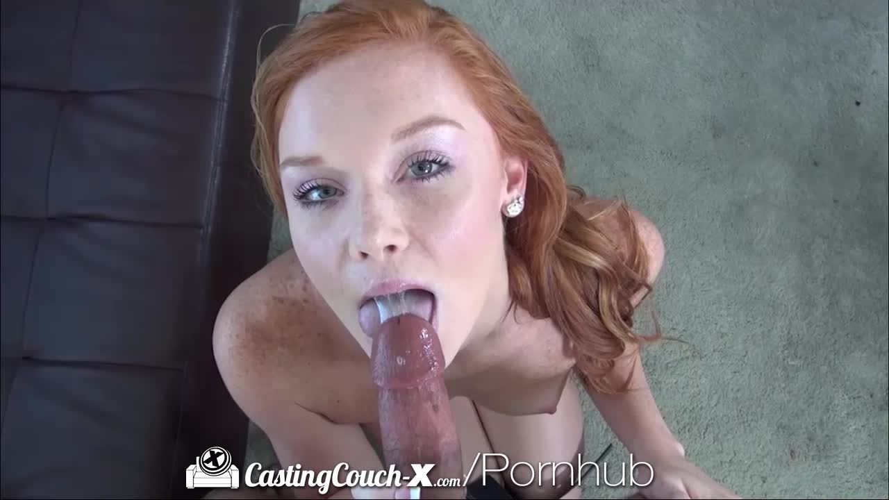 Young Redhead Wants to Be Fucked on Came
