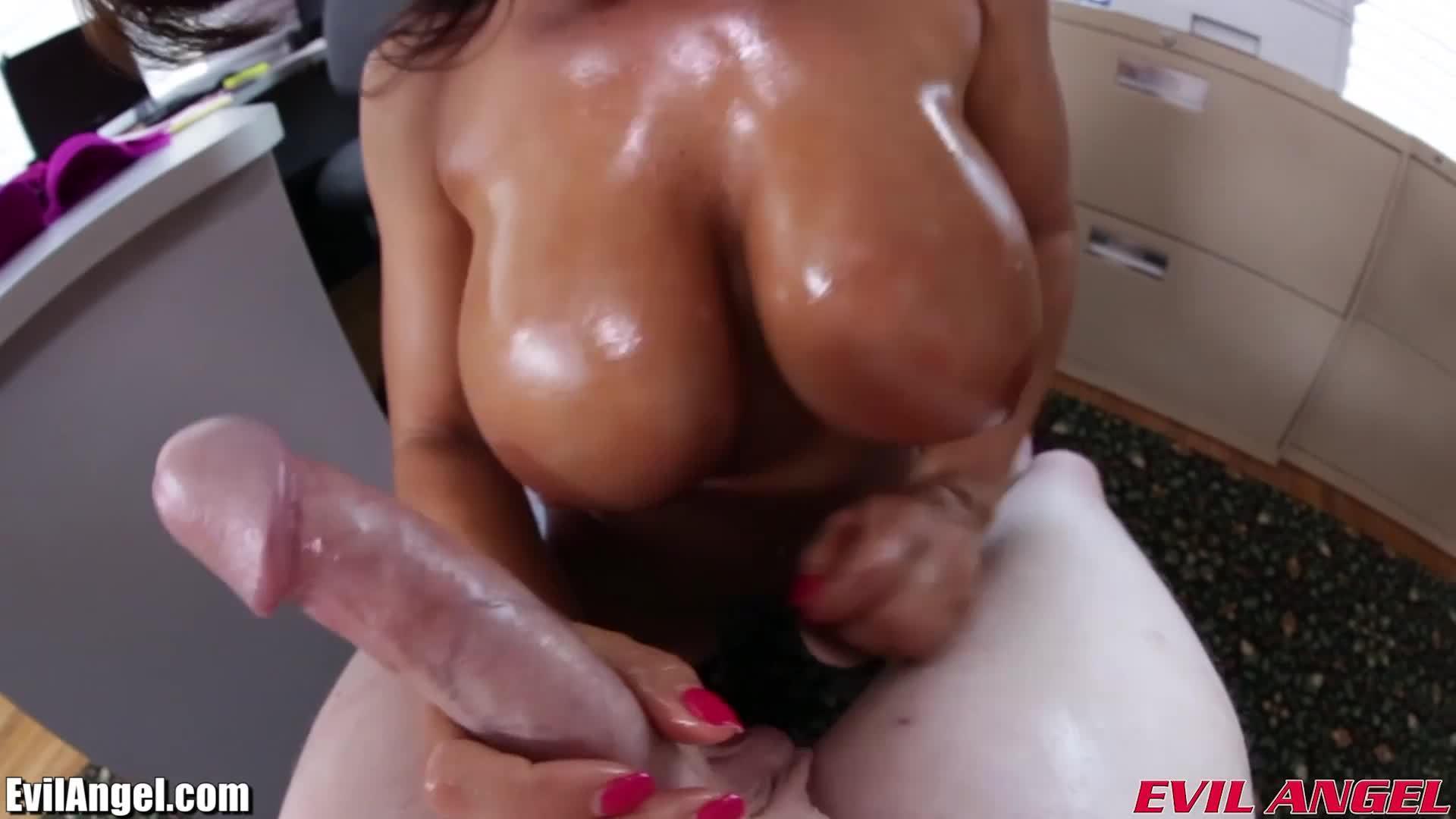 Ann POV Tit Fucking and Blowjob